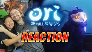MAX/WIFE REACTS: ORI - Will Of The Wisps Trailer (Actual F'in Tears)