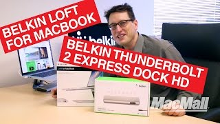 Belkin Thunderbolt 2 Express Dock HD with Cable | Belkin Loft for MacBook - MacMall