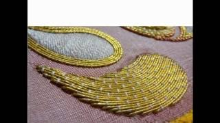 zardozi embroidery tutorial for simple stitches
