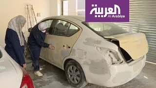 أم علي.. أول ميكانيكية للسيارات في الكويت