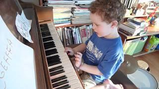 "Jasper plays ""Elmo's World"""