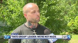 'Witch hunt:' Leader denies group is neo-Nazi