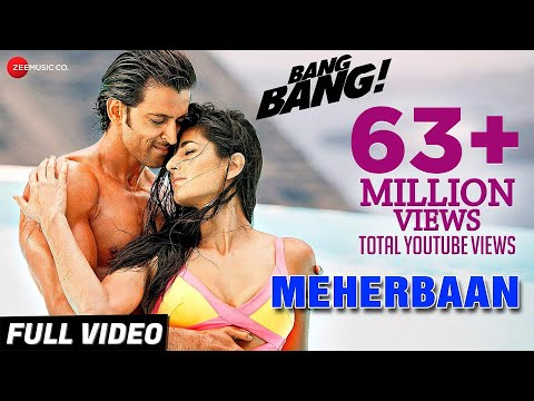 Download Meherbaan Full Video | BANG BANG! | feat Hrithik Roshan & Katrina Kaif | Vishal Shekhar