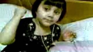 Zainab singing Follow me