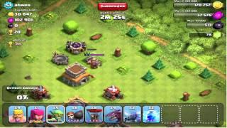 Clash of Clans - Barbarian King versus PEKKA 1-on-1