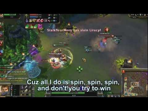 PlentaKill - LoL I Do is Spin (DJ Khaled - All I Do is Win LoL Parody) PLK