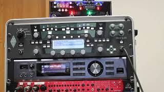 MIDI Grande 6F1D shows tuner from Kemper Profiler