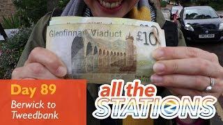 England: tick - Episode 49, Day 89 - Berwick-Upon-Tweed to Tweedbank