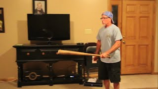 Psycho Uncle Smashes TV!!(Role Reversal)