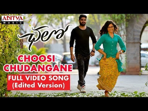 Xxx Mp4 Choosi Chudangane Full Video Song Edited Version Chalo Movie Naga Shaurya Rashmika 3gp Sex