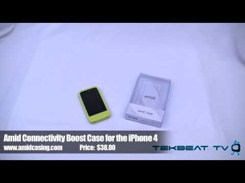 Amid Case Review for the iPhone 4:  Boost Your Connectivity Speed?