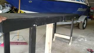 DIY Folding Beer pong table hack