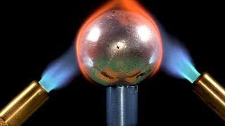 Experiment :  Aluminum Foil Ball VS Torch