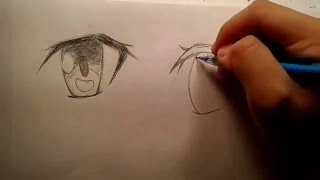 How to draw Sword Art Online eyes