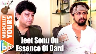 Jeet Gannguli | Sonu Nigam's Exclusive On The Essence Of 'Sarbjit' Song 'Dard'
