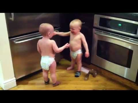 Talking Twin Babies PART 2 OFFICIAL VIDEO