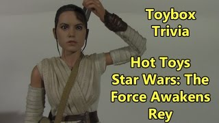 Toybox Trivia: Hot Toys Star Wars: The Force Awakens Rey