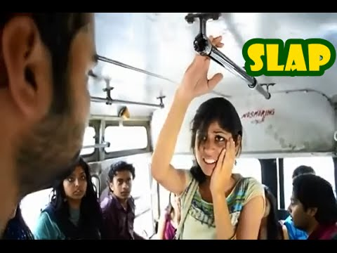 Xxx Mp4 A Guy Slaps An Indian Girl In A Public Bus Amp Teaches Her A Lesson 3gp Sex