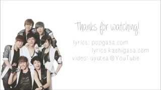 INFINITE - Back (Color Coded Hangul/Rom/Eng Lyrics)