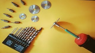 How To make a Powerful Mini drill Machine saw cutter at Home | MrInvento