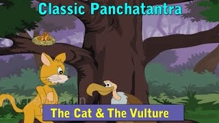 Vulture and Cat | Panchatantra Stories Marathi | Animated Marathi Stories For Kids | Marathi Goshti