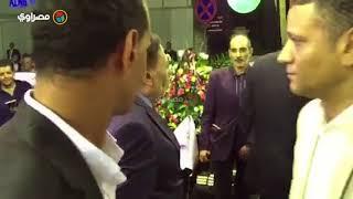 الزعيم عادل إمام في عزاء رفعت السعيد