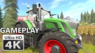 Farming Simulator 17 First Gameplay 4K : From Seeds to Harvest