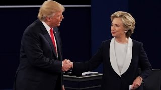 Trump and Clinton debate Muslim immigration