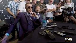 Conor McGregor Grand Arrivals Media Scrum – MMA Fighting