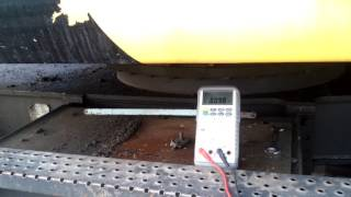 18.05.17 ток на клапане Y113 при движении колесами