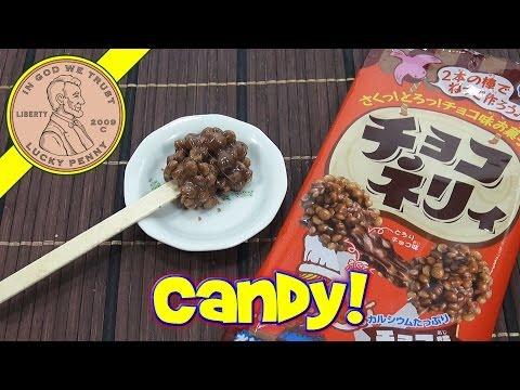 Choco Neri Chocolate Flavor Candy Making DIY Japenese Kit - Kracie Happy Kitchen Popin' Cookin'