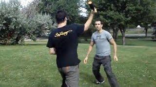 Defense against a Baseball Bat