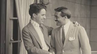 Max Linder Visits Charlie Chaplin - Behind the Scenes Archival Footage