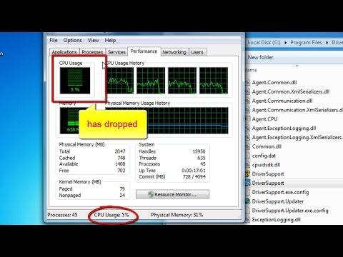 How to lower down CPU usage (Reduce CPU Usage on Windows 7, Windows 8, Windows 10)
