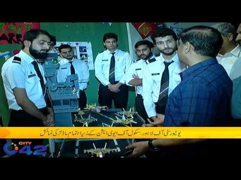 School of Aviation organized Models exhibition in UOL