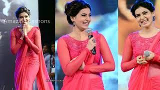 #3ACF || Samantha's beautiful Saree pics || Wardrobe collections