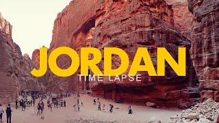 JORDAN - Amman, Jerash & Petra in a stunning Time-Lapse | Short Film Showcase