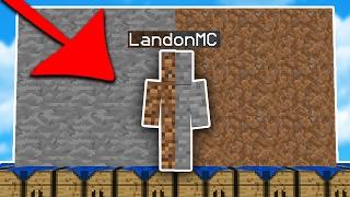 RETURN of the I AM STONE CHALLENGE... (Minecraft Skywars Trolling)