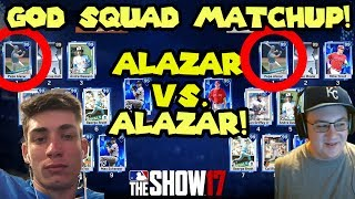 Alazar vs. Alazar God Squad Matchup! [Collab With Bengal!] MLB The Show 17 Diamond Dynasty