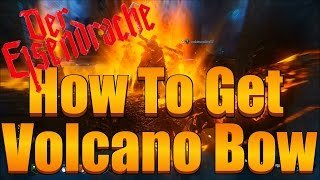 BO3 Zombies - How To Get The Volcano Bow And Arrow Tutorial (Fire Bow Guide)