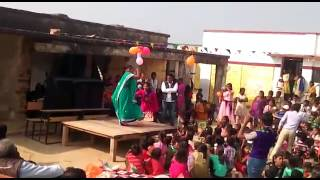 Gopiganj bhadohi Republic day dancing of gulauri Schools