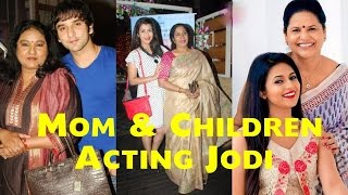 Indian Television Real Life Mom & Children Acting Jodi | Bollywood Fun Facts