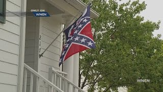 Cary man fights to fly Confederate-style flag