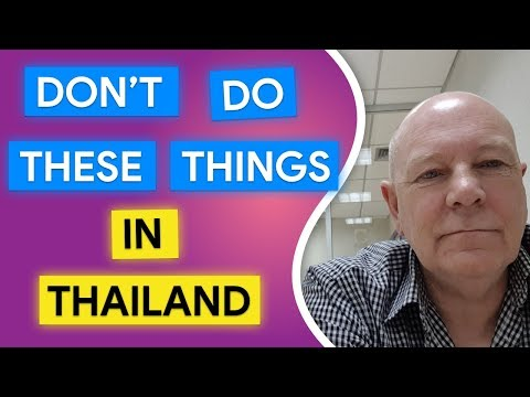 Xxx Mp4 Don T Do These Things In Thailand 3gp Sex