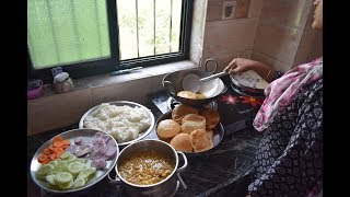 SUNDAY INDIAN LUNCH ROUTINE 2017 IN HINDI | SUNDAY LUNCH RECIPES INDIAN  | KITCHEN CLEANING ROUTINE