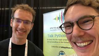 PyCon 2018 Vlog 05 – Side-project Productivity (with Bob Belderbos of PyBites)