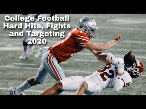 College Football Hard Hits Fights and Targeting 2020 Part 2