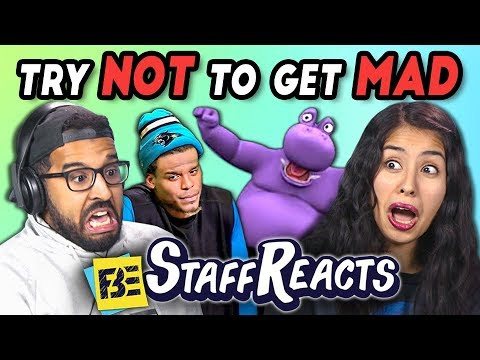 TRY NOT TO GET MAD CHALLENGE 2 ft. FBE Staff