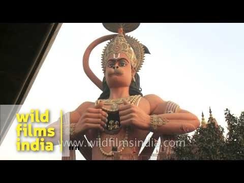 The highest Hanuman statue in India also moves?? Karol Bagh, Delhi