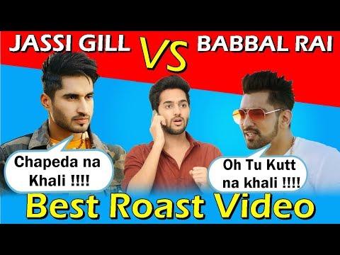 JASSI GILL | BABBAL RAI | Fight | Latest Punjabi songs Roast Video | Prince Dhimann